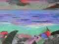 Abendmeer, 2010, Öl auf Leinwand, 50x70 cm