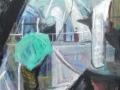 Auf der Rickmer Rickmers, 2003, Öl auf Leinwand, 70x60 cm