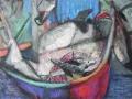 Fischerkahn vom Mittelmeer, 2010, Öl auf Leinwand, 45x60 cm