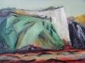 Kreideküste, 2005, Öl auf Leinwand, 60x80 cm