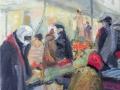 Markttag, Marokko, 2012, Öl auf Leinwand, 40x50 cm