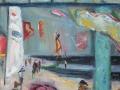 Strandfest, 2004, Öl auf Leinwand, 80x60 cm